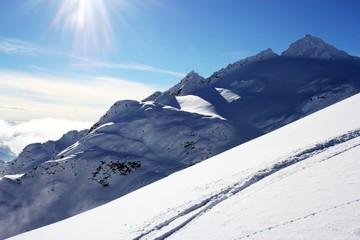 mountain snow winter