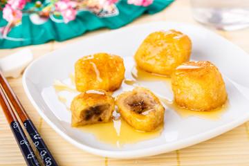 gebackene Bananen - Pisang goreng - fried bananas