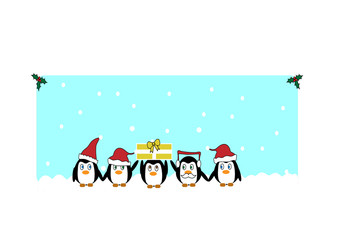 Christmas pinguins