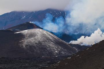 Tolbachik volcano eruption 2013