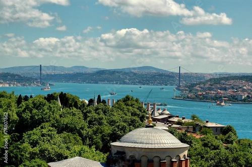 Istanbul's view form Hagia Sophia Minaret