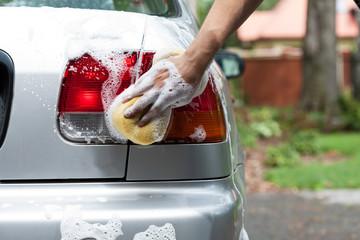 Polishing rear lights