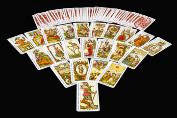22 Major Arcana Tarot