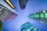Shinjuku, Tokyo, Japan Financial District Cityscape