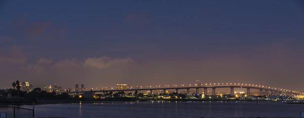 coronado bay bridge, san diego