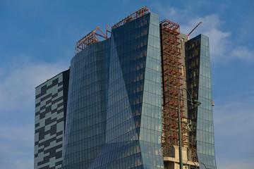 modern business office exterior building