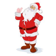 Santa Claus, Christmas, New year