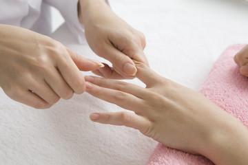 Finger massage