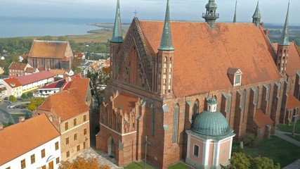 Gothic cathedral in Frombork, Poland
