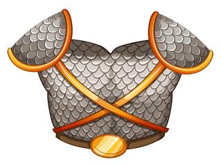 A viking's body shield