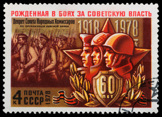 Soviet soldiers and the army