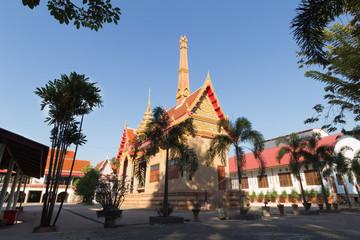 Crematory at Wat Chom Ket, Bang Pahan, Ayutthaya