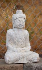 An old Tibetan style Shakyamuni Buddha statue