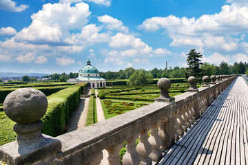 Flower gardens (UNESCO), Kromeriz, Czech republic