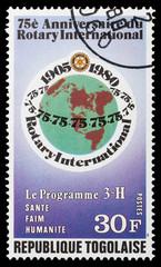 Rotary Anniversary Emblem