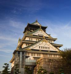 osaka castle  in Kyoto, Japan