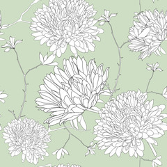 Illustration flower pattern