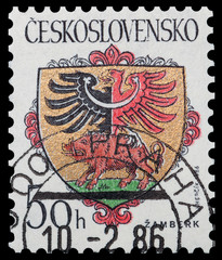 Coats of arms of the Czechoslovak cities