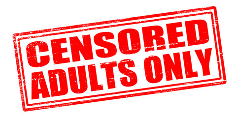 Censored adults only