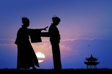 wear the traditional kimono