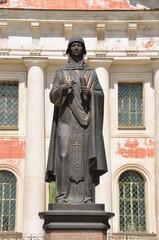 Памятник Анне Кашинской в г. Кашин Тверской области