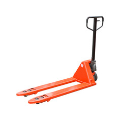 Pallet jack isolated