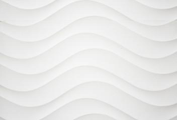 White corrugated wall