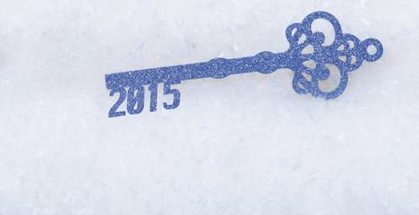 Schlüssel ins neue Jahr 2015