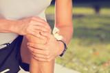 Jogging injury. - 74827481