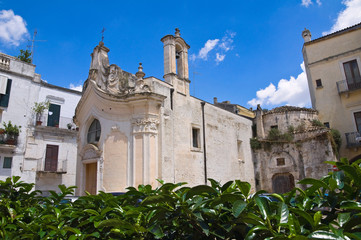 Church of Madonna dei Martiri. Altamura. Puglia. Italy.