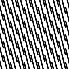 Seamless monochrome angular line pattern