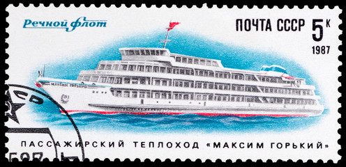 passenger motor ship