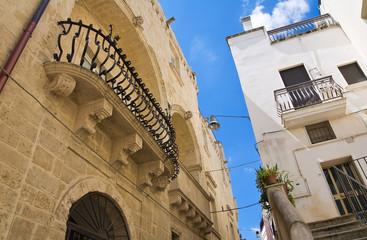 Baldassarre Palace. Altamura. Puglia. Italy.