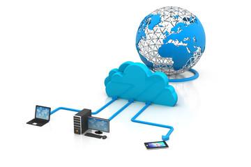 cloud computing concept ..