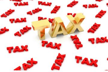 Tax concept ..