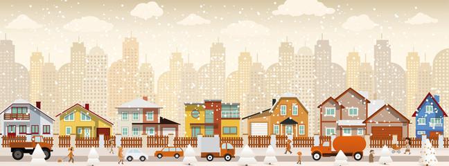 City life (winter)