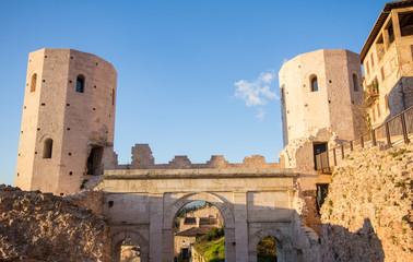 Porta Venere a Spello, Umbria