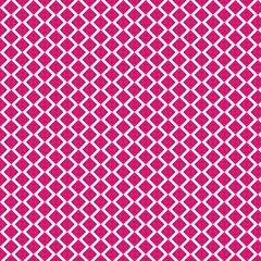 vector geometric vivid pink square zigzag  background.
