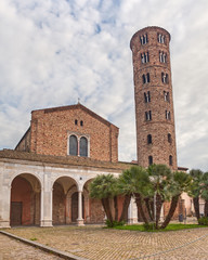 Basilica of Sant'Apollinare Nuovo in Ravenna, Italy
