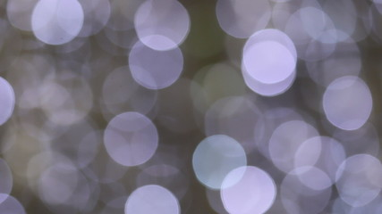 Christmas Blue lights bokeh