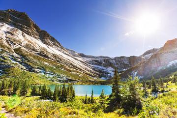 Fototapeta słoneczne południe w górach