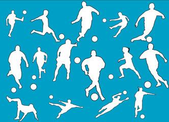 sagome calcio