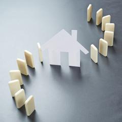 Real estate crisis composition