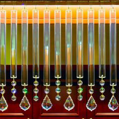 Decorative crystal details.