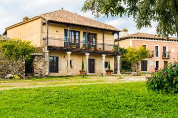 House in the village of Granadilla, Caceres, Extremadura, Spain
