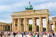Brandenburg Gate in Berlin - Germany - 74835274