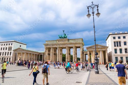 Tuinposter Berlijn Brandenburg Gate in Berlin - Germany