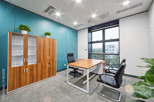 modern office interior - 74836280
