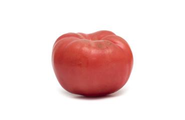 Fresh red tomato. Photo.