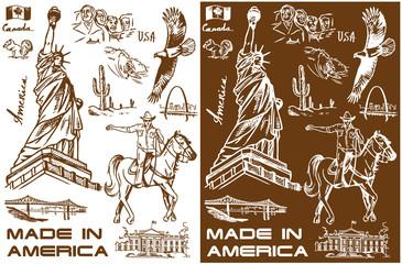 America sketch